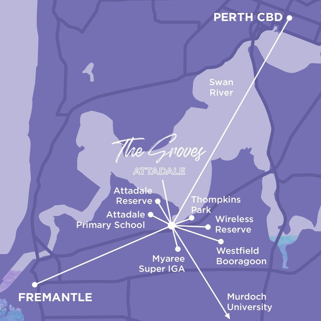 the groves location map